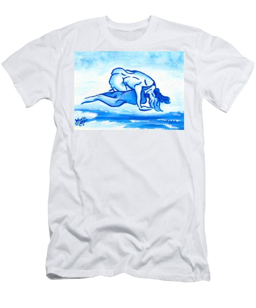 Ocean Of Desire Men's T-Shirt (Athletic Fit)