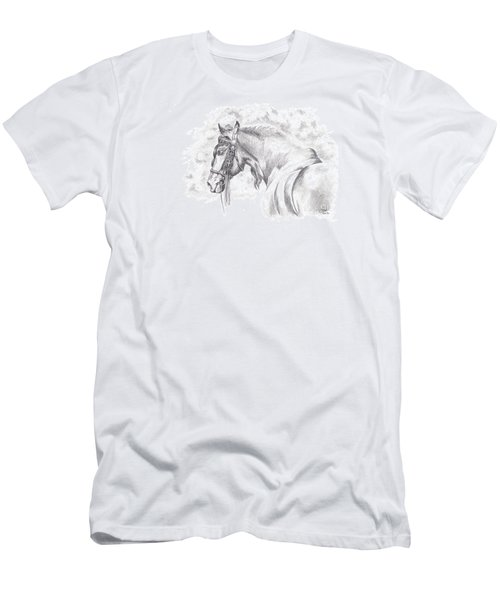 Patience Men's T-Shirt (Slim Fit) by Kate Black