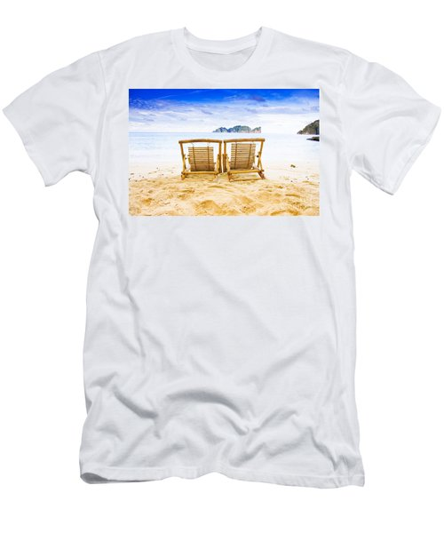 Phi Phi Island Thailand Men's T-Shirt (Athletic Fit)