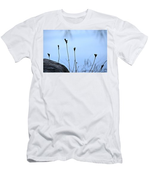 Pods On Pond Men's T-Shirt (Athletic Fit)