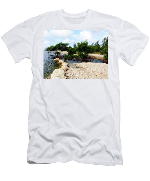 Men's T-Shirt (Slim Fit) featuring the photograph Reclamation 6 by Amar Sheow
