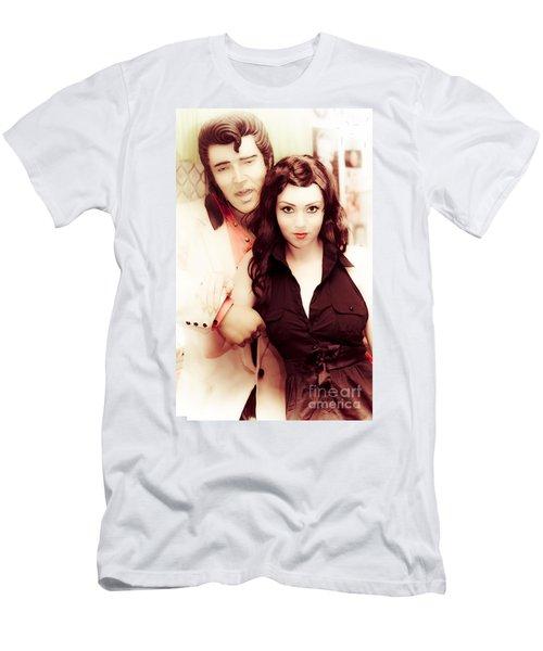 Retro Rock Men's T-Shirt (Athletic Fit)
