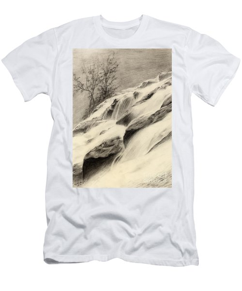 River Stream Men's T-Shirt (Athletic Fit)