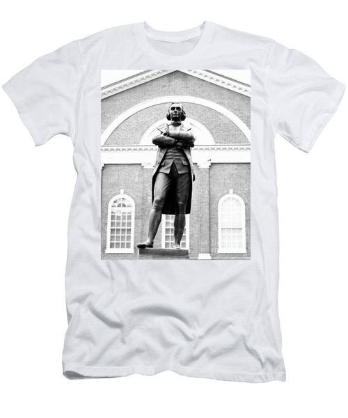 Samuel Adams Statue, State House Boston Ma Men's T-Shirt (Athletic Fit)