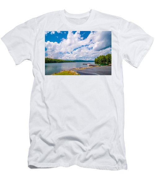 Scenery Around Lake Jocasse Gorge Men's T-Shirt (Athletic Fit)