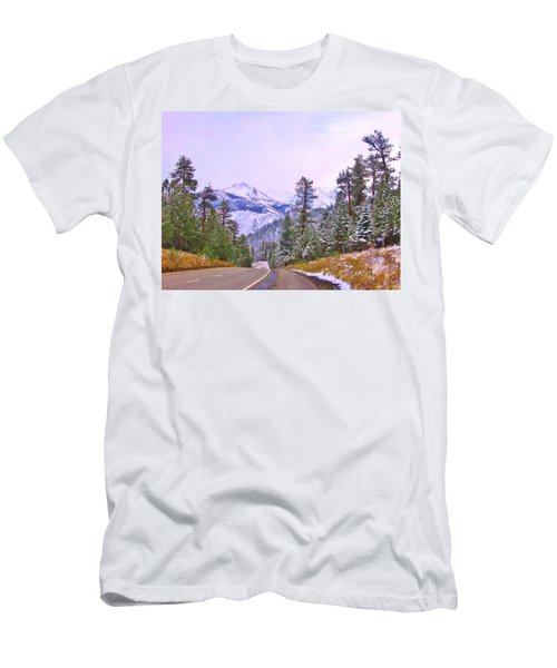 Men's T-Shirt (Slim Fit) featuring the photograph Sierra Storm by Marilyn Diaz