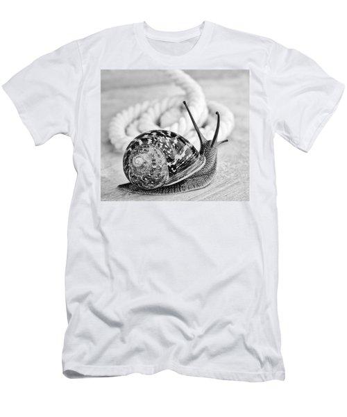 Snail Men's T-Shirt (Athletic Fit)