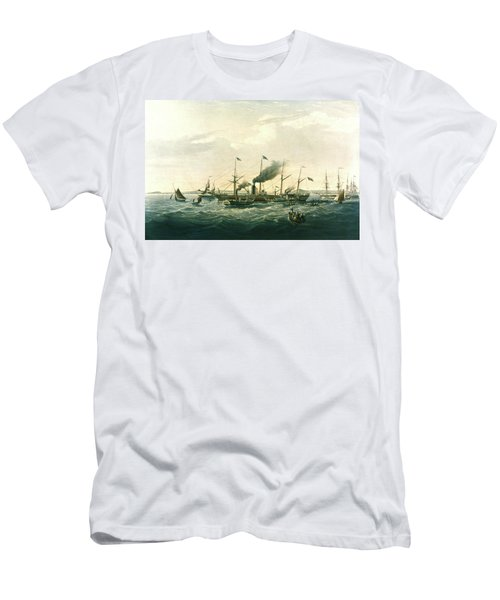 Steamship Men's T-Shirt (Athletic Fit)