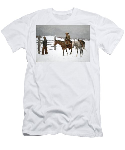 The Fall Of The Cowboy Men's T-Shirt (Athletic Fit)