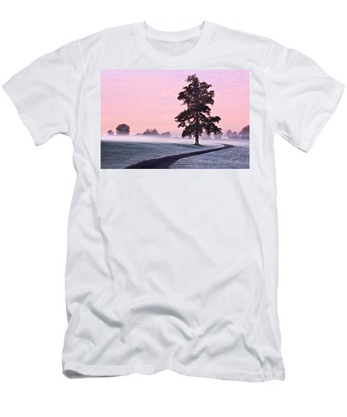 Tree At Dawn / Maynooth Men's T-Shirt (Athletic Fit)