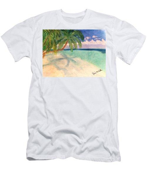 Tropical Shores Men's T-Shirt (Athletic Fit)