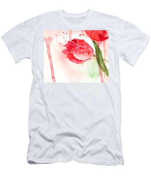 Tulip Flower Men's T-Shirt (Athletic Fit)