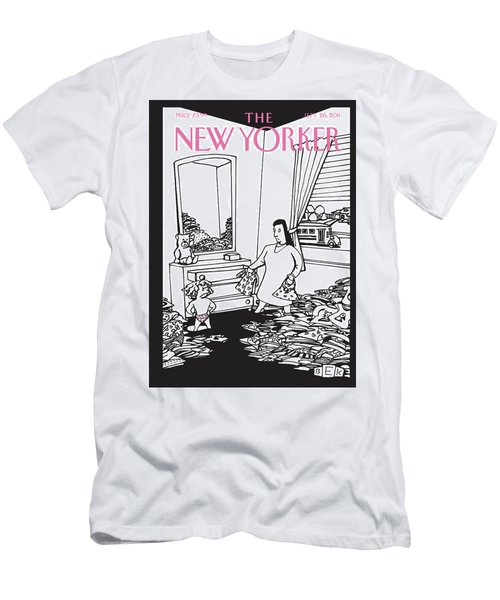 New Yorker September 26th, 2011 Men's T-Shirt (Athletic Fit)