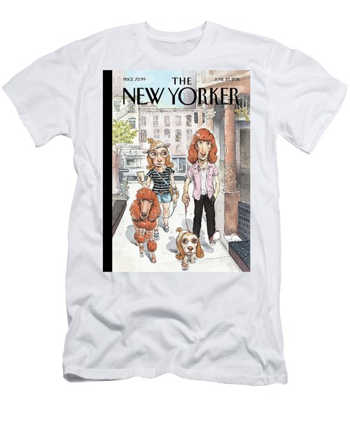 New Yorker June 27th, 2011 Men's T-Shirt (Athletic Fit)