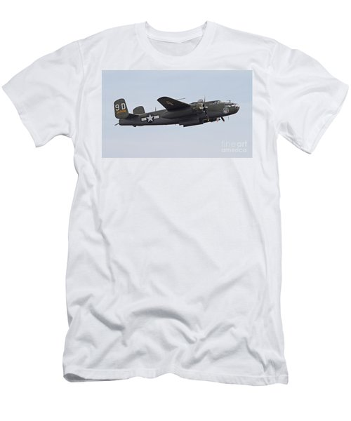 Vintage World War II Bomber Men's T-Shirt (Athletic Fit)