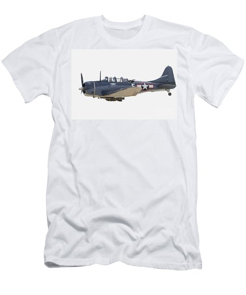 Vintage World War II Dive Bomber Men's T-Shirt (Athletic Fit)
