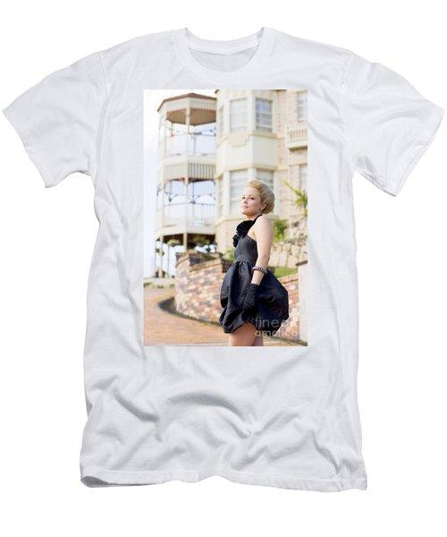 Wealthy Woman Men's T-Shirt (Athletic Fit)