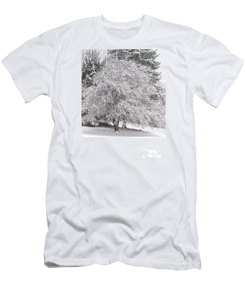 White As Snow Men's T-Shirt (Athletic Fit)