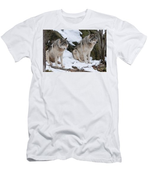 Timber Wolves Men's T-Shirt (Athletic Fit)