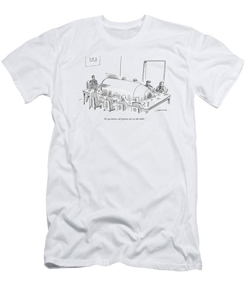 As You Know Men's T-Shirt (Athletic Fit)