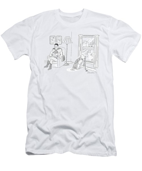 New Yorker March 17th, 2008 Men's T-Shirt (Athletic Fit)