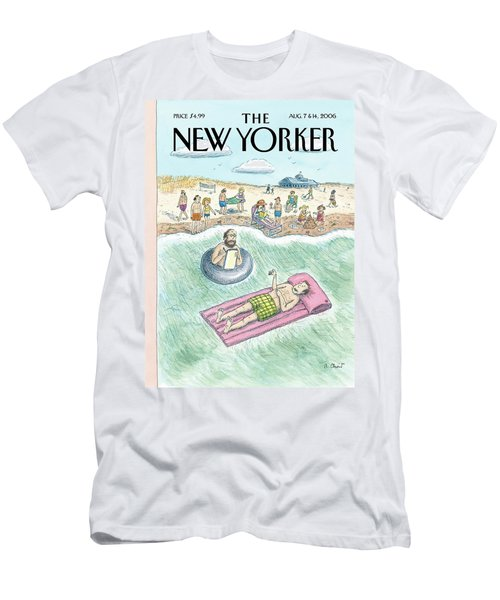 New Yorker August 7th, 2006 Men's T-Shirt (Athletic Fit)