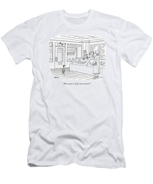 Who Wants A Little Treat Tartare? Men's T-Shirt (Athletic Fit)