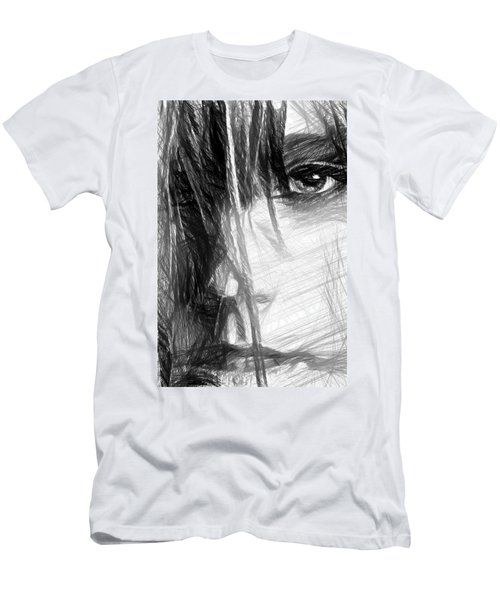 Facial Expressions Men's T-Shirt (Athletic Fit)