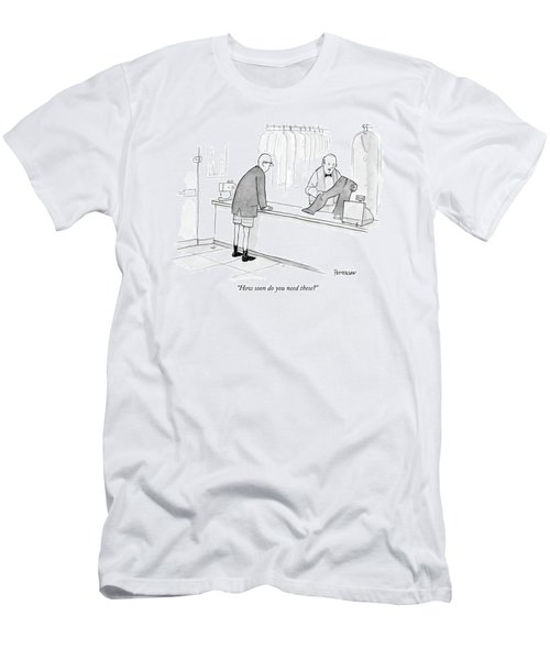 How Soon Do You Need These? Men's T-Shirt (Athletic Fit)