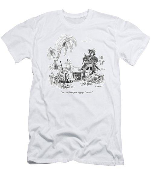 Arr, We Found Your Luggage, Captain Men's T-Shirt (Athletic Fit)
