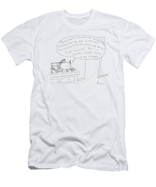New Yorker May 7th, 2007 Men's T-Shirt (Athletic Fit)