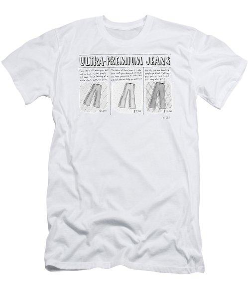 Ultra-premium Jeans Men's T-Shirt (Athletic Fit)
