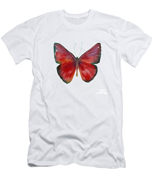 16 Mesene Rubella Butterfly Men's T-Shirt (Athletic Fit)