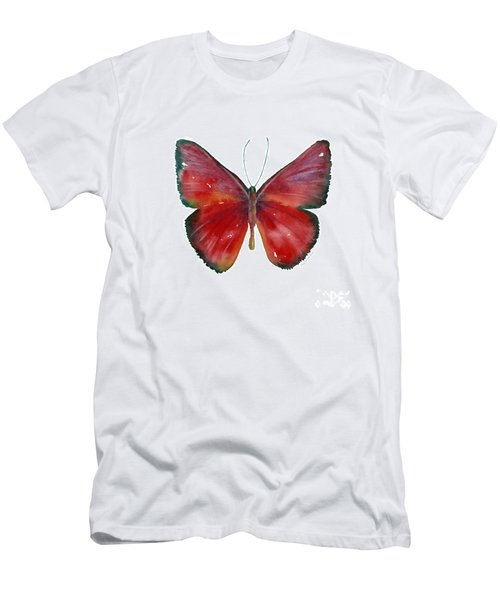 16 Mesene Rubella Butterfly Men's T-Shirt (Athletic Fit)