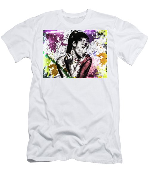 Demi Lovato Men's T-Shirt (Athletic Fit)