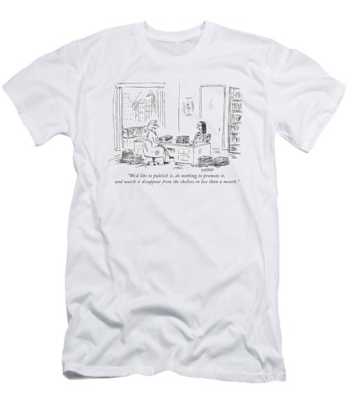 We'd Like To Publish Men's T-Shirt (Athletic Fit)