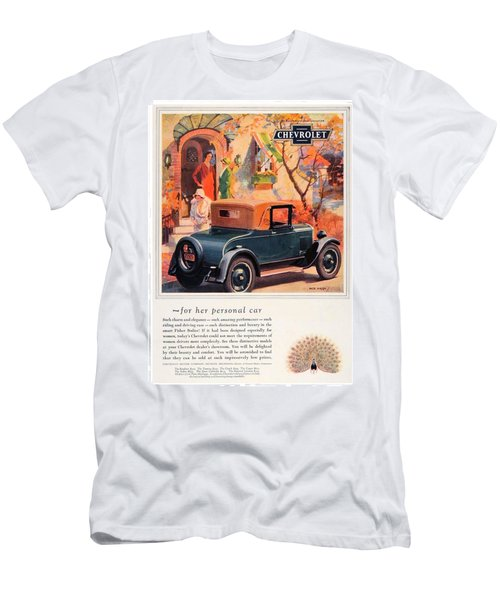 1927 - Chevrolet Advertisement - Color Men's T-Shirt (Athletic Fit)