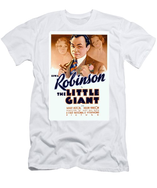 1933 - The Little Giant - Warner Brothers Movie Poster - Edward G Robinson - Color Men's T-Shirt (Athletic Fit)