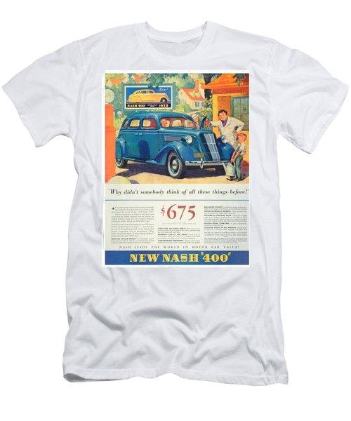 1936 - Nash Sedan Automobile Advertisement - Color Men's T-Shirt (Athletic Fit)
