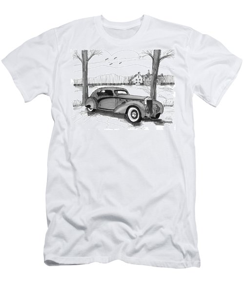 1937 Delage D8 120 Men's T-Shirt (Athletic Fit)