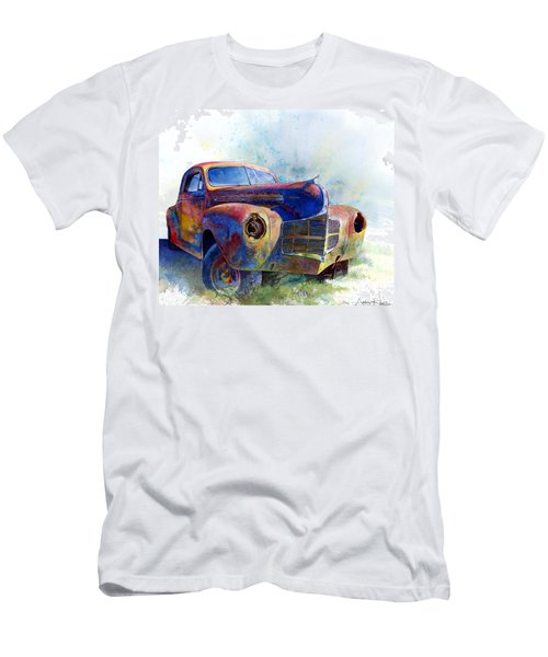 Men's T-Shirt (Athletic Fit) featuring the painting 1940 Dodge by Andrew King