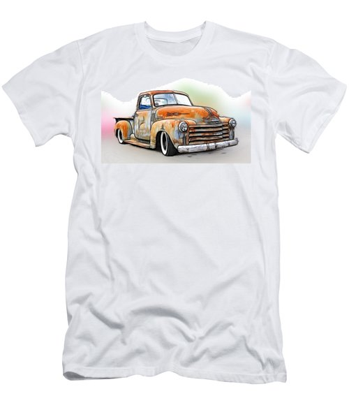 1950 Chevy Truck Men's T-Shirt (Athletic Fit)