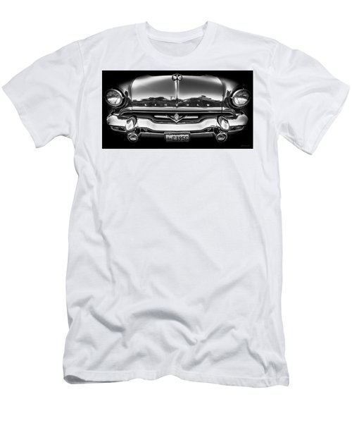 Men's T-Shirt (Slim Fit) featuring the photograph 1953 Lincoln - Capri by Steven Milner