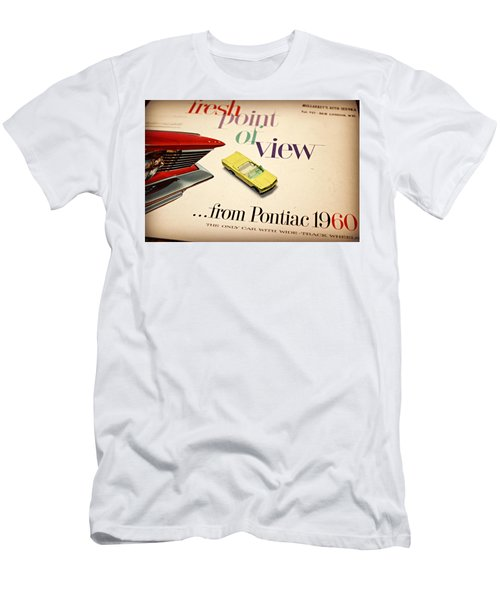 1960 Pontiac Matchbox Cover Car Men's T-Shirt (Athletic Fit)