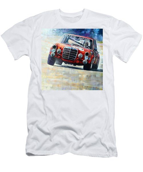 1971 Mercedes-benz Amg 300sel Men's T-Shirt (Athletic Fit)