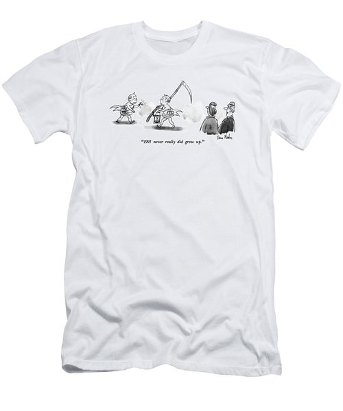 1991 Never Really Did Grow Up Men's T-Shirt (Athletic Fit)