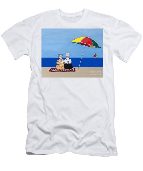 Always Together Men's T-Shirt (Slim Fit) by Barbara McMahon