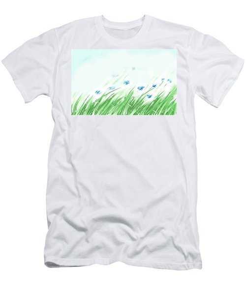 April Shower Men's T-Shirt (Athletic Fit)
