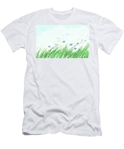 April Shower Men's T-Shirt (Athletic Fit)