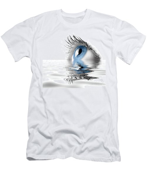 Blue Eye Men's T-Shirt (Athletic Fit)
